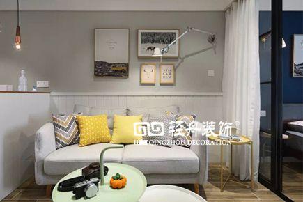 【轻舟装饰】地安门东大街平房50平米,现代简约风格案例