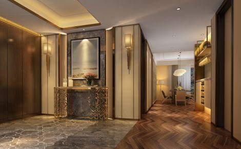 澳门新世界吕总 现代风格三房装修设计