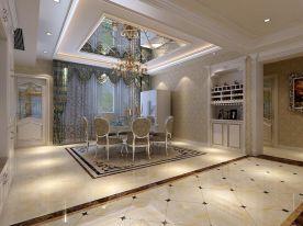 艺盛维多利亚装修效果 欧式风格四房装修设计