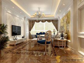 西安|欧式风格三居装修效果图