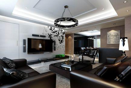 现代风格三房装修 现代家庭设计装修