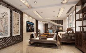 新中式风格复式装修 新中式家庭装修效果图