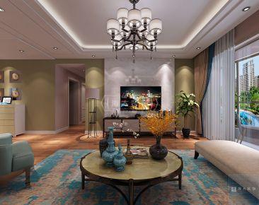 海大装饰-花果园-160平米现代风格四房装修设计
