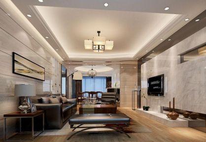 普君新城华府三房装修 现代风格家庭装修效果图