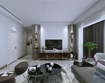 海大装饰-花果园-127平米现代风家庭装修设计