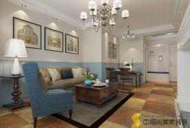 西安|三居室地中海风格装修效果图