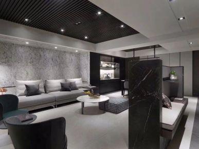 高级灰装修设计 高级灰家庭装修效果图