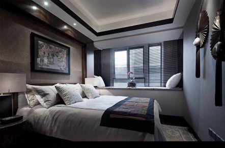城市果岭现代风格三房装修设计效果图