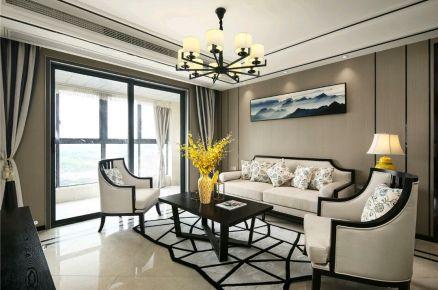 锦鹏国际李先生雅居 中式风格三居室家庭装修