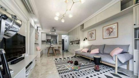 星沙小肖家 现代风格三房装修设计效果图