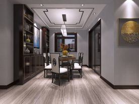 方总府邸 现代风格三房装修设计效果图欣赏