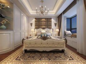 郑州宽视界 欧式风格三房装修设计效果图