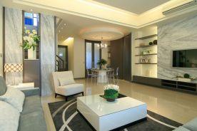 郑州升龙天汇 现代风格三房装修效果图