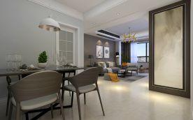 现代家庭装修设计 现代风格四房装修效果图