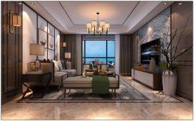 现代风格四房装修设计 现代风格家庭装修效果图欣赏