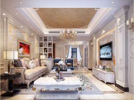 欧式风格三房装修设计 欧式风格家装效果图欣赏