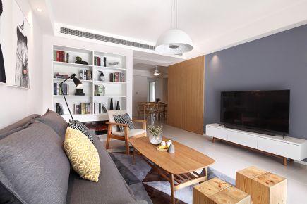 85平米三居室原木色装修 85平米小户型装修效果图