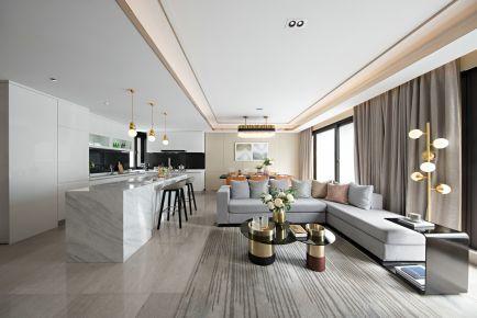 杭州花涧堂四房装修 现代风格家庭装修设计案例