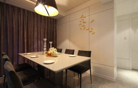 亚欧国际90平米现代简约三房装修案例