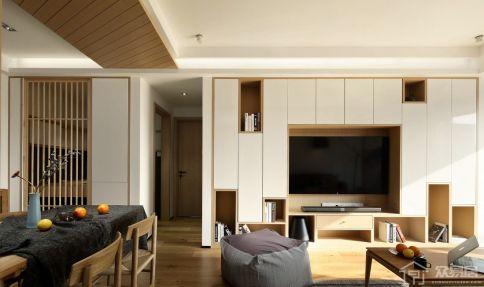 日式风格三房装修设计 日式风格家庭装修效果图