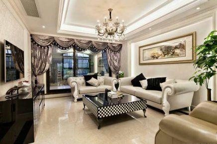 深圳欧式风格四居室装修 欧式风格家装设计