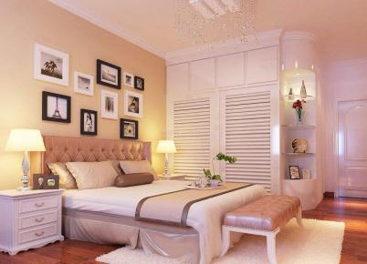 现代简约三房装修效果图 简单大方温馨舒服