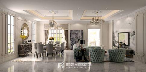 绍兴中央美墅|现代法式风格装修设计案例