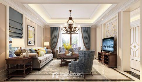750方黄龙和山现代美式中式混搭风格设计