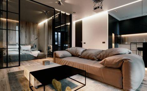 【维享家装饰】江山国际 轻奢风家庭装修设计效果图