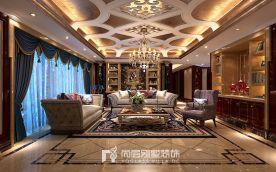 东方润园300方新古典风格装修设计案例