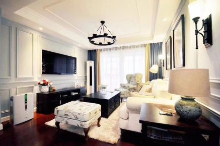 【维享家装饰】春风与湖 美式风格家庭装修设计