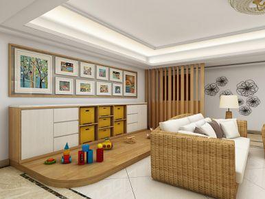 盛世香堡 中式风格三房装修设计