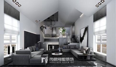 七里香溪400方现代极简风格案例效果图
