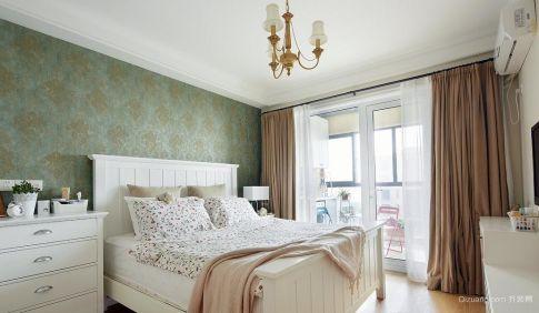 小美风格家庭装修效果图 美式风格三房装修设计