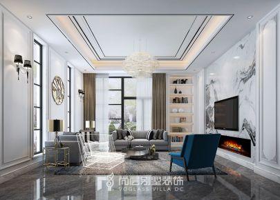 400方青枫墅园现代法式风格装修设计图