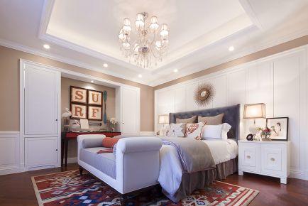 简美风格三房装修 简约美式风格家装效果图