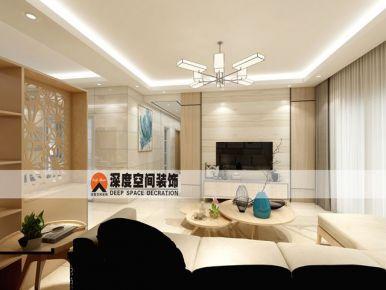 惠州锦鸿名苑家装设计 简约风格三房一厅装修效果图