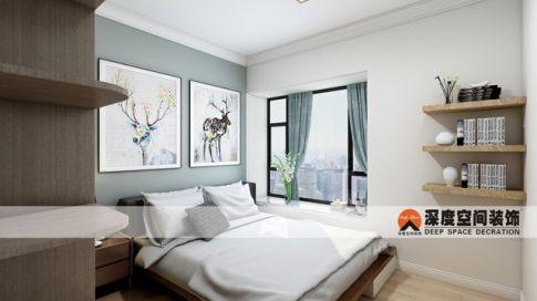 佳兆业花园陈叔雅居 欧式风格三房装修设计