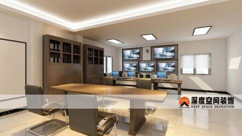 天气预报惠州站设计装修 简约风格办公室装修效果图
