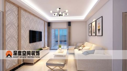 惠州华邦首府 三室一厅 现代简约风格装修设计