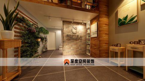 中州天御舞蹈室设计装修 简约风格舞蹈室装修效果图