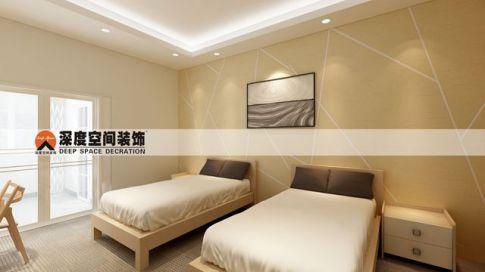 惠州恒都宾馆装修设计 简约风格宾馆装修效果图