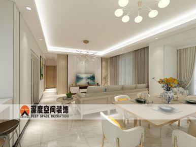 深圳光明邦民-华家园 欧式风格四房装修效果图
