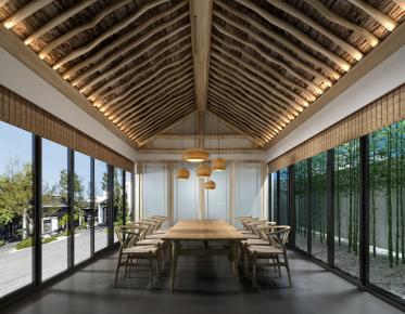 北京觅舍东方 中式风格两房装修设计