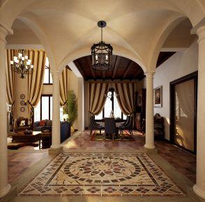 简约小美风格装修 简约美式风格别墅装修效果图