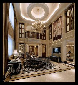 温州跃层客厅装修设计 简约风格复式装修效果图