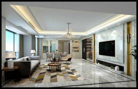 现代风格四房装修 现代风格家装设计图