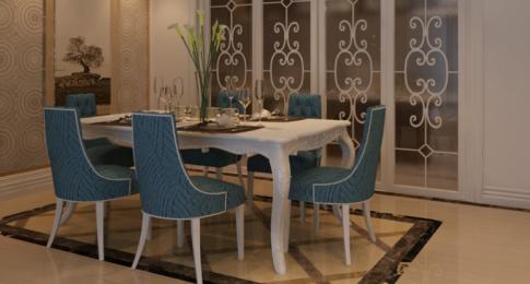 青山湖区-保利心语花园 创意混搭风格家装设计
