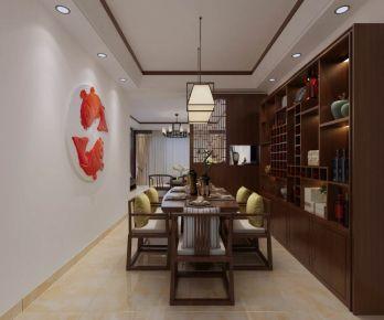 中式风格四房装修设计 中式风格家庭装修效果图