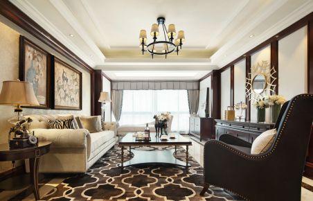 奢华美式家庭装修设计 美式风格四房装修效果图